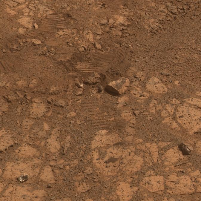 Ученые смогли объяснить, откуда взялся марсианский «блуждающий камень»