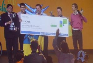 Украинская команда QuadSquad стала победителем Imagine Cup 2012