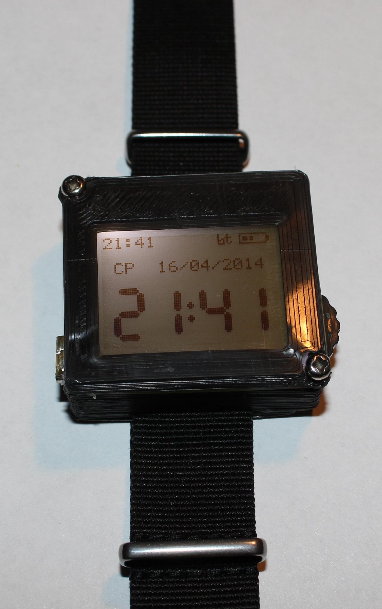 Умные часы своими руками за 1500 рублей. Часть 3 – программа на МК