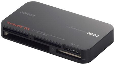 Универсальные устройства для работы с картами памяти Buffalo BSCR15TU3 оснащены интерфейсом USB 3.0