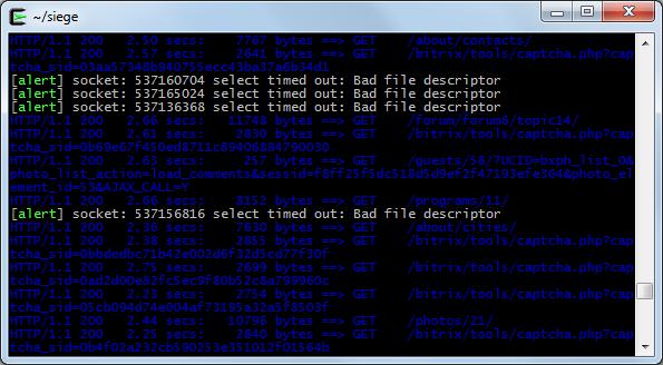 Устанавливаем утилиту для нагрузочного тестирования Siege под Windows (Cygwin)