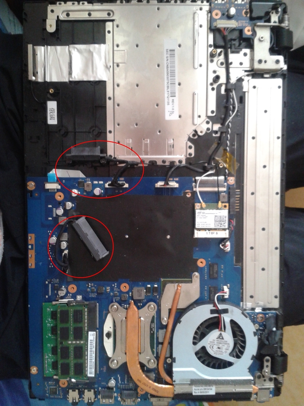 Устанавливаем второй жесткий диск в ноутбук Samsung 300V