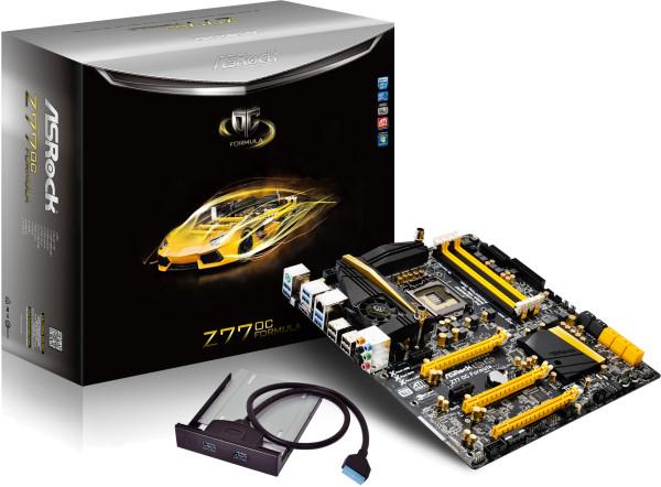 Устанвлен новый мировой рекорд разгона Intel Core i7 3770K на ASRock Z77 OC Formula