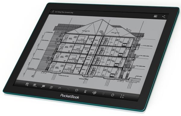 Основой PocketBook CAD Reader служит двухъядерный процессор