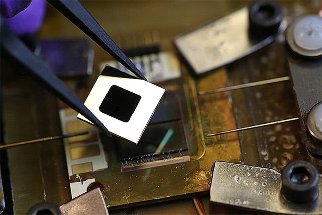 Увеличение КПД солнечных панелей с помощью нагревательного элемента