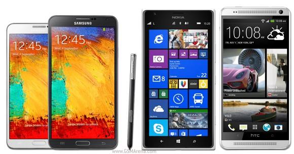 В 2014 году продажи планшетофонов превысят продажи планшетных компьютеров диагональю до 8 дюймов