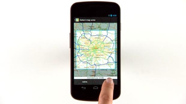 В Google Maps для Android появился оффлайн режим