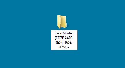 В Windows 8 так же доступен «Режим Бога»