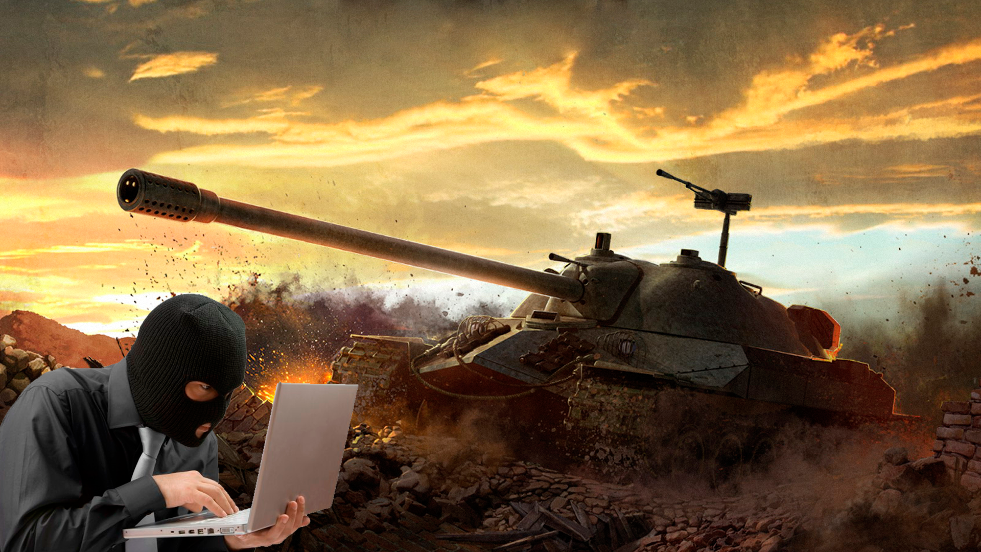 В Беларуси возбудили уголовное дело за угон виртуального танка
