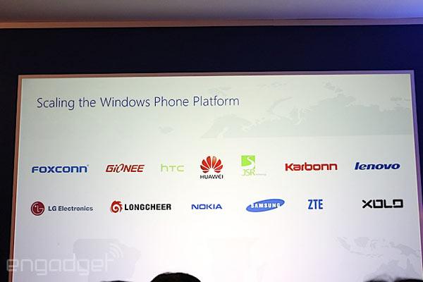 По словам Microsoft, возможность использования Windows Phone доступна всем желающим
