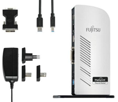 В Fujitsu PR08 используется микросхема DisplayLink DL-3900