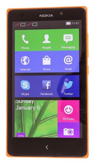 В Индии начались продажи смартфонов Nokia XL с ОС Android