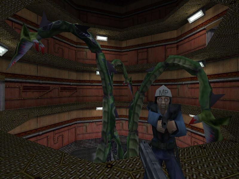 В интернете оказалась ранняя альфа версия игры Half Life 1997 го года