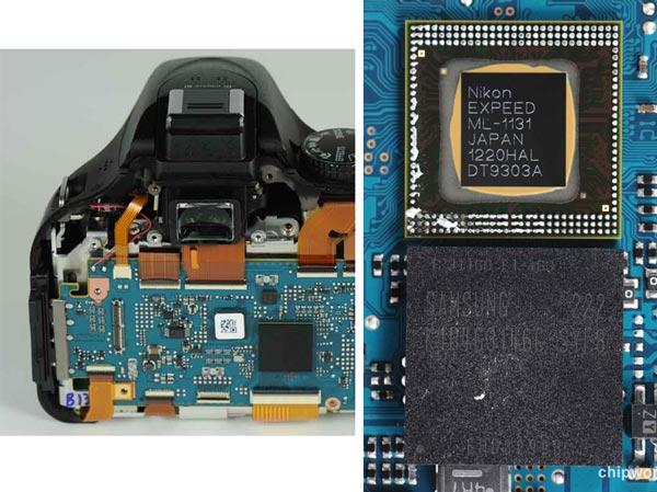 В камере Nikon D5200 используется датчик изображения производства Toshiba