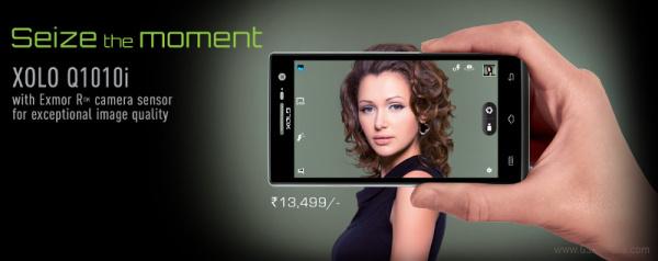 Смартфон Xolo Q1010i с пятидюймовым дисплеем IPS разрешением 1280 х 720 пикселей относится к среднему сегменту