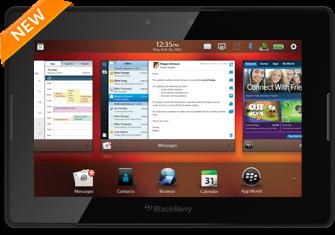 В Канаде в продаже появился планшет Blackberry Playbook 4G LTE