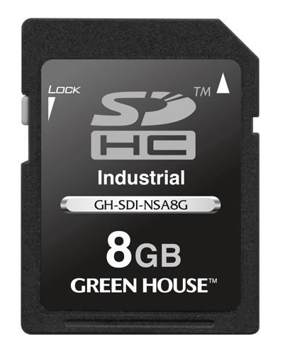В каточках памяти Green House SDHC GH-SDI-NSA используется память типа SLC NAND