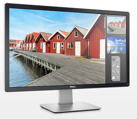 Монитор Dell P2714H оснащен входами DVI-D, VGA и DisplayPort