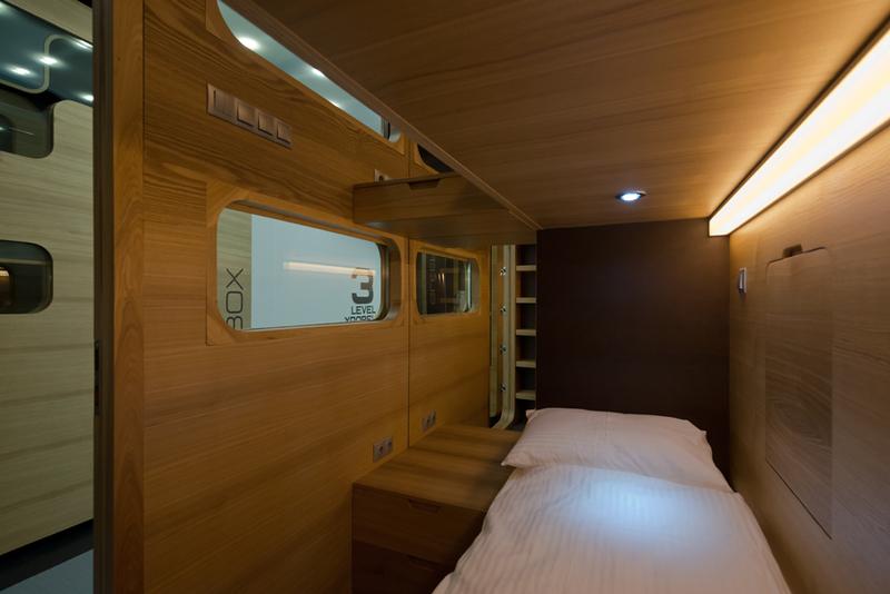 В Москве скоро откроется первый Sleep Box отель
