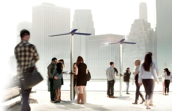 В Нью Йорке создается сеть «солнечных» зарядных станций