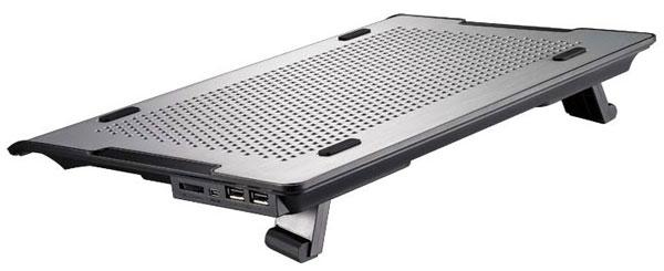 Конструкцией Cooler Master Notepal A200 предусмотрено изменение угла наклона