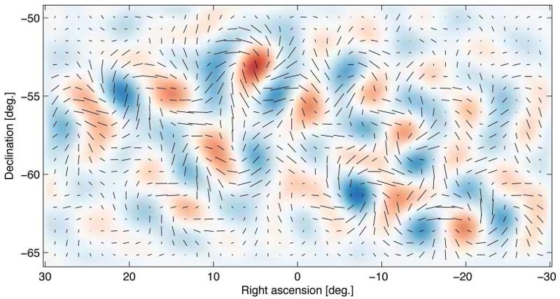 В реликтовом излучении обнаружены следы гравитационных волн от Большого взрыва