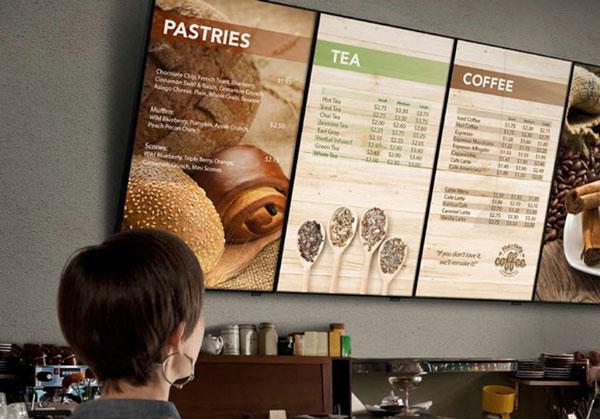 Коммерческие дисплеи Samsung QMD показаны на InfoComm 2014