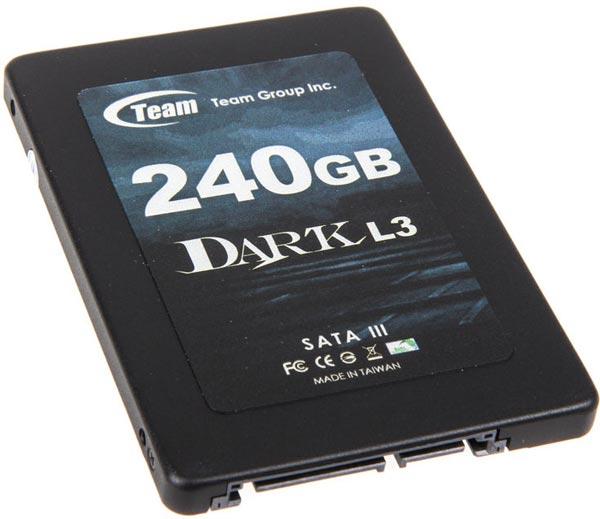 В накопителях Team Group Dark L3 используется флэш-память MLC NAND и контроллеры Phison PS3108-S8