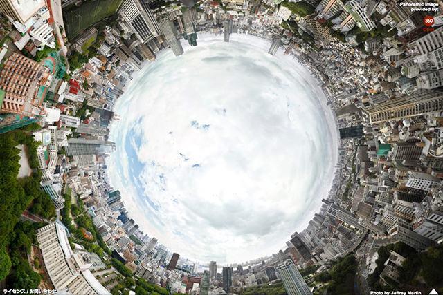 В Сеть выложена 150 гигапиксельная панорама Токио