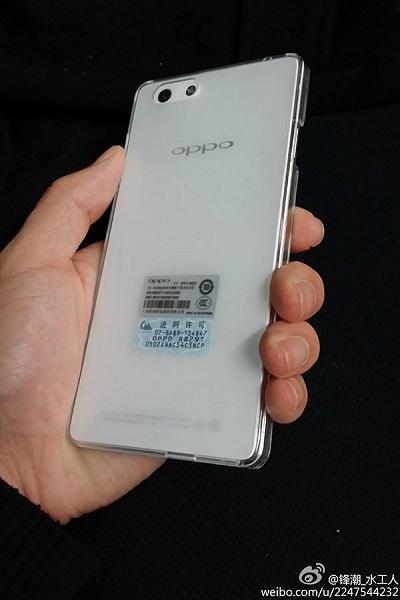 В Сети появились «живые» фото смартфона Oppo R1 (Oppo R829T)