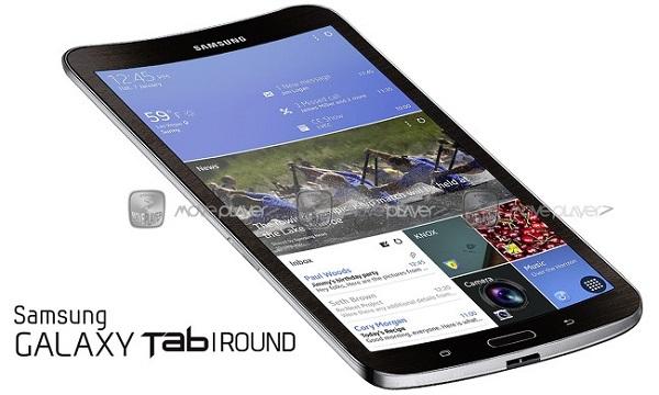 В Сети появилось изображение устройства Samsung Galaxy Tab Round