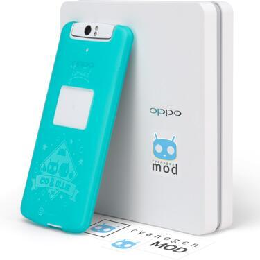 В Cети появилось видео с планшетофона Oppo N1 с прошивкой CyanogenMod 10.2