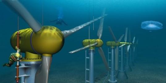 В Шотландии планируют создать подводную электростанцию