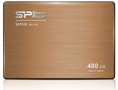 Накопители Silicon Power Velox V70 оснащены интерфейсом SATA 6 Гбит/с