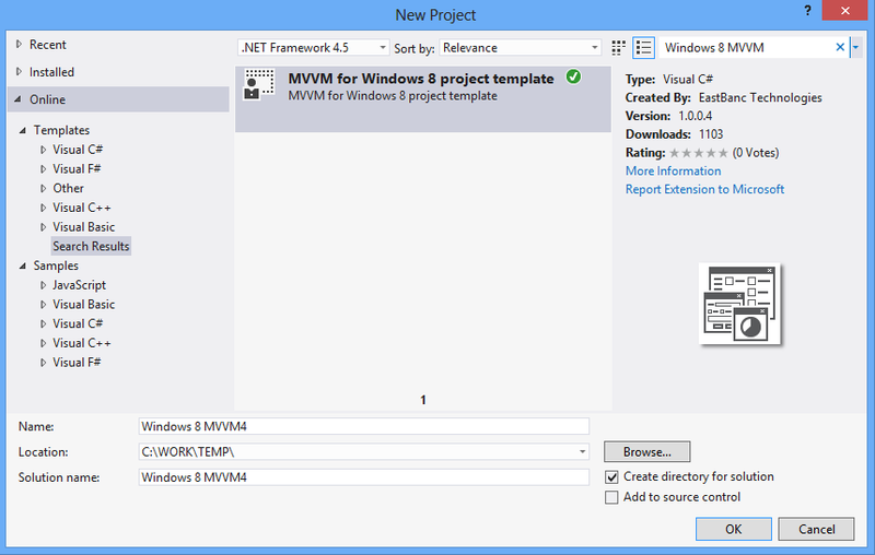 Варим MVVM для Windows Store приложений