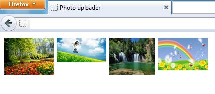 Вебдванольная загрузка фотографий без flash и html5