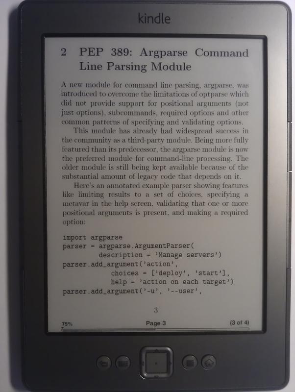 Верстаем PDF для Kindle