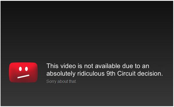 Видео запретили на YouTube из за 5 секундного присутствия актрисы