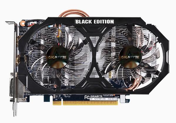 Gigabyte GeForce GTX 750 Ti Black Edition