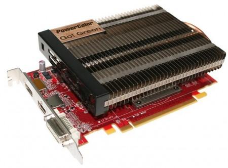 Видеокарта PowerColor Radeon HD 7750 Go! Green