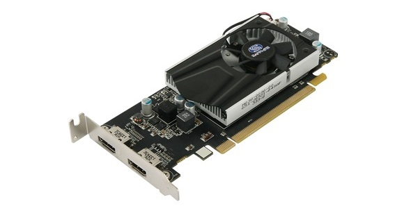 Sapphire Radeon R7 240 2GB DDR3 Dual HDMI Low profile with boost