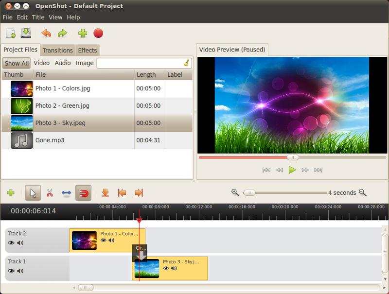 Видеоредактор OpenShot с обновлённым движком идёт на Windows и Mac