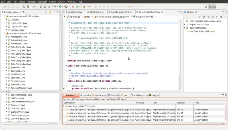 Визуальный тюнинг Eclipse под Linux
