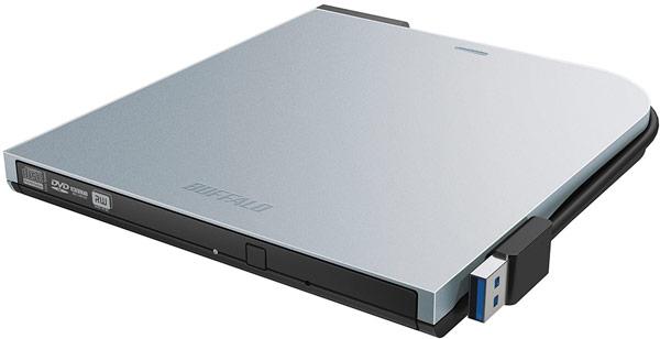 Подключение ко второму порту USB обеспечивает оптический привод Buffalo DVSM-PTS58U3 дополнительным питанием