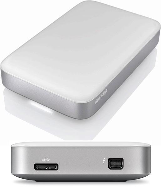 Цена Buffalo HD-PZ2.0U3-BC названа примерно равной $250, HD-PA2.0TU3 — $360