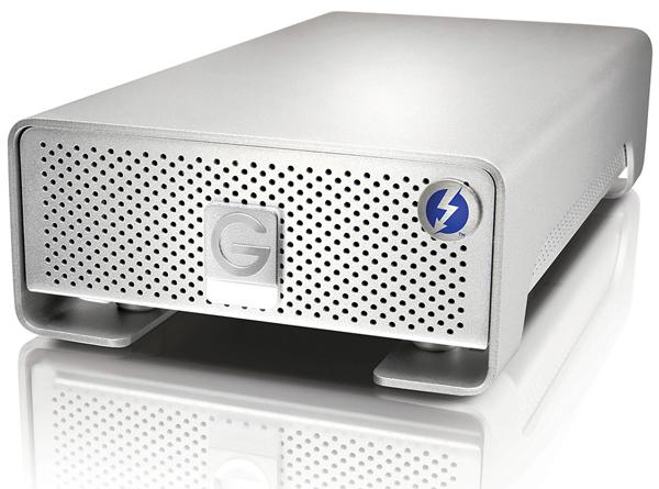 Рекомендованная цена G-Technology G-Drive Pro with Thunderbolt объемом 4 ТБ равна $850, 2 ТБ — $700