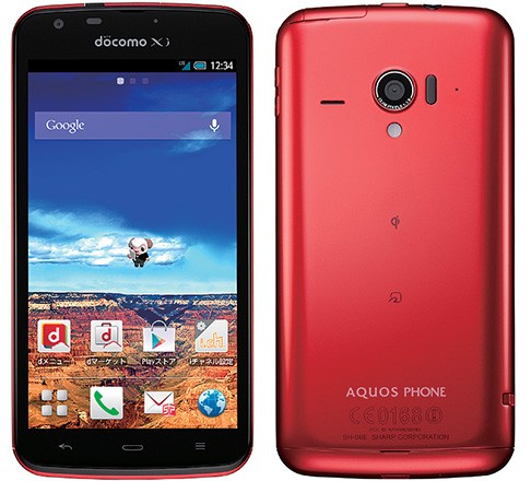 Компания NTT DoCoMo анонсировала смартфон Sharp Aquos Phone Zeta SH-06E