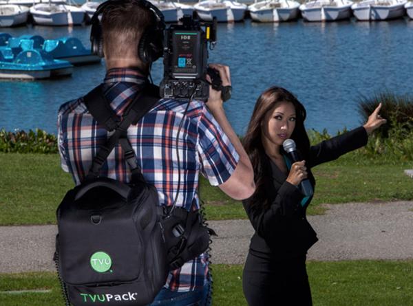 Оборудование TVUPack TM8200 позволяет использовать сотовые сети для видеорепортажей