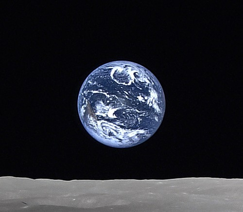 Восход Земли на Луне… обычное дело
