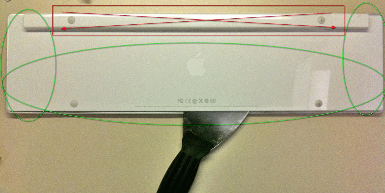 Восстановить Apple keyboard aluminium после попадания жидкости
